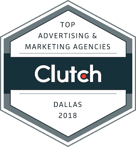 top advertising and marketing agency clutch logo dallas